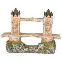 Kit Decoration De L'habitat NOBBY Aqua déco Tower Bridge - 240x105x170mm - Pour aquarium