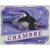 Kit Decoration De L'habitat VADIGRAN Panneau Chambre FR - Pour chat