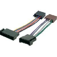 Kit D'installation D'autoradio Cable pour autoradio ISO Galaxy-Alhambra-Sharan - ADNAuto