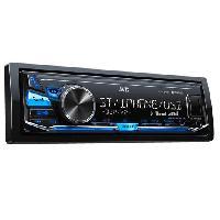 Kit D'installation D'autoradio KD-X341BT Autoradio numerique USB AUX - Bluetooth - IPodIPhoneAndroid - Bleu -- KD-X351BT