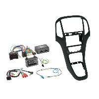 Kit D'installation D'autoradio Kit installation autoradio 2DIN pour Opel Astra ap09 - Noir perle Generique