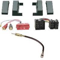 Kit Facade et Faisceau ISO Kit Installation Autoradio Eco KFAC90-2 pour Audi A2 98-05 A3 99-01 TT 98-06