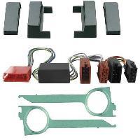 Kit Facade et Faisceau ISO Kit Installation Autoradio Eco KFAC90 pour Audi A4 99-01 amplifie non-Bose