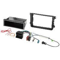 Kit Facade et Faisceau ISO Kit Installation Autoradio KITFAC-145-2 compatible avec Seat Skoda Volkswagen