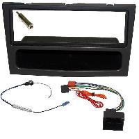 Kit Facade et Faisceau ISO Kit Installation Autoradio KITFAC-152D compatible avec Opel - Noir