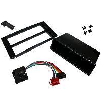 Kit Facade et Faisceau ISO Kit Installation Autoradio KITFAC-153 compatible avec Ford - Noir