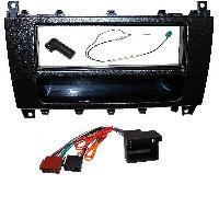 Kit Facade et Faisceau ISO Kit Installation Autoradio KITFAC-164 compatible avec Mercedes Classe C