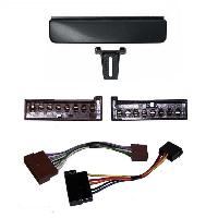 Kit Facade et Faisceau ISO Kit Installation Autoradio KITFAC-73-2 compatible avec Audi Ford Mercedes VW