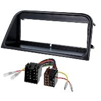 Kit Facade et Faisceau ISO Kit Installation Autoradio KITFAC-89 compatible avec Peugeot 406