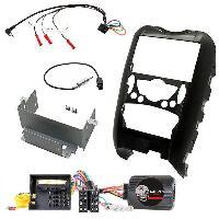 Kit Facade et Faisceau ISO Kit Installation Autoradio KITFAC-ZBM2 pour Mini R55 R56 R57 ADNAuto