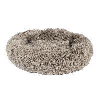 Kit Habitat - Couchage Doudou Soft Corbeille Couchage chat- Diametre 50 cm