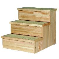 Kit Habitat - Couchage TRIXIE Escalier PetStair. bouleau pour chien