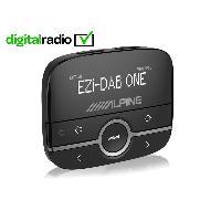 Kit Main libre Auto EZi-DAB-ONE Module reception radio numerique DAB DAB+ AUX IN via auxiliaire Alpine