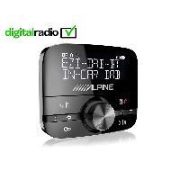 Kit Main libre Auto Module reception radio numerique DAB pour autoradio-USBiPodiPhoneiPad - EZI-DAB-BT Alpine