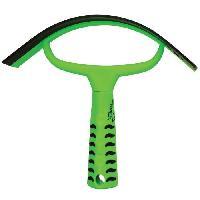 Kit Materiel De Toilettage - Pansage Couteau de chaleur Grip - Vert neon - L 20 x l 22 cm