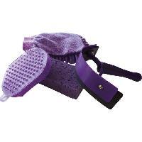 Kit Materiel De Toilettage - Pansage Kit de lavage pour cheval - Violet