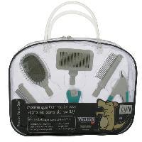 Kit Materiel De Toilettage - Pansage Kit de toilettage - 6 accessoires - Pour chien