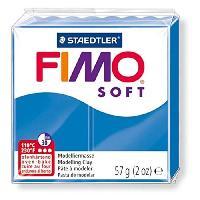 Kit Modelage FIMO Boîte 6 Pieces Fimo Soft Bleu Pacifique N°37 - Ferry
