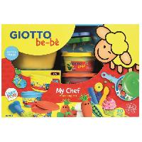 Kit Modelage GIOTTO be-be Kit de modelage My chef - 20 pieces