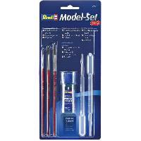 Kit Modelisme A Construire Accessoires Maquette Model set plus Kit peinture 29620 - Revell