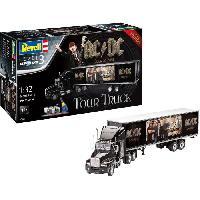 Kit Modelisme A Construire REVELL Maquette Camions Coffret cadeau AC-DC Tour truck 07453