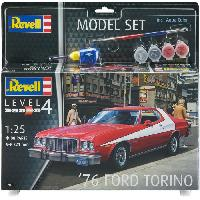 Kit Modelisme A Construire REVELL Maquette Model set Voitures '76 Ford Torino 67038