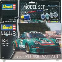 Kit Modelisme A Construire REVELL Maquette Model set Voitures Porsche 934 RSR Vailla 67032