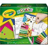 Kit Mosaique CRAYOLA  Jeux De Mosaiques
