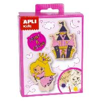 Kit Papier Creatif APLI Mini Kit peinture Princesse