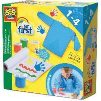 Kit Papier Creatif SES CREATIVE MY FIRST Mon premier kit de peinture au doigt