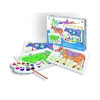 Kit Peinture Aquarellum - Vaches