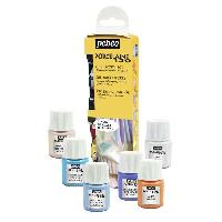 Kit Peinture Kit de 6 peintures porcelaine 150 - 20 ml - Pastel