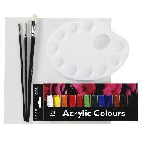 Kit Peinture Kit de Peinture debutant - 12 ml - Acrylique