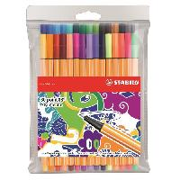 "Kit Pour Calligraphie STABILO 30 stylos-feutres ""Individual just like you"" - Point 88"