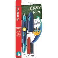 Kit Pour Calligraphie STABILO Stylo-plume EASYbirdy et 1 clé de réglage - Bleu et turquoise