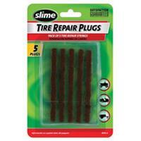 Kit Reparation Pneu - Outil Reparation Pneu 5 meches de reparation pour pneux - Slime