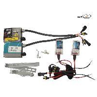 Kit Xenon 35W Kit Conversion Xenon HID 2 ampoules H3 - 35W - 6000K