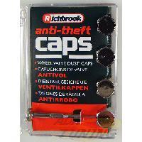 Kit de 4 Capuchons de valves - Antivol