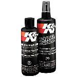 Kit de Nettoyage Filtres - Huile souple - Nettoyant 350mL Huile 225mL - 99-5050 K&N