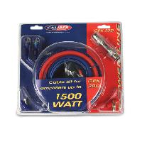 Kit de cables CPK20D - Kit de cablage 20mm2 pour amplificateur 1500W - Caliber