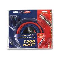 Kit de cables CPK20D - Kit de cablage 20mm2 pour amplificateur 1500W Caliber