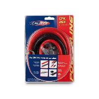 Kit de cables CPK25X - Kit de cablage 25mm2 pour amplificateur 2000W Caliber