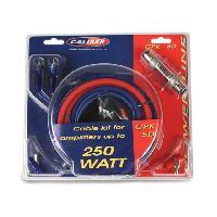 Kit de cables CPK5D - Kit de cablage 5mm2 pour amplificateur 250W - Caliber