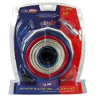 Kit de cables Kit de cablage 15mm2 pour amplificateur 1000W - CPK-3R - Caliber