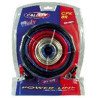 Kit de cables Kit de cablage 35mm2 pour amplificateur 2500W - CPK-8R - Caliber