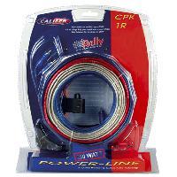 Kit de cables Kit de cablage 5mm2 pour amplificateur 250W - CPK-1R Caliber