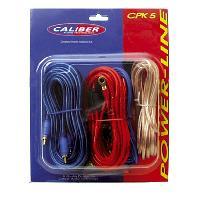 Kit de cables Kit de cablage 5mm2 pour amplificateur 250W - CPK-5 - Caliber