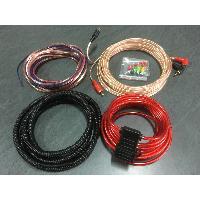 Kit de cables Kit de cablage complet Ampli 400W - ADNAuto