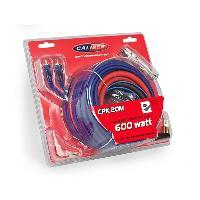 Kit de cables Kit de cablage pour amplificateur Max 600W 5m Caliber