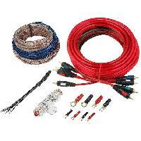 Kit de cables Kit pour amplificateur 60A Alim 10mm2 audio 2x1.5mm2 - ADNAuto